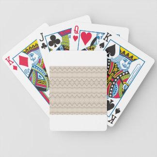 Baralho Para Pôquer Design tribal do teste padrão de ziguezague da