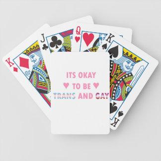 Baralho Para Pôquer É aprovado ser o transporte e o gay (v4)