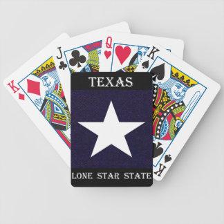 Baralho Para Pôquer Estrela solitária de Texas