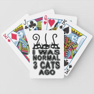Baralho Para Pôquer Eu era gatos normais há