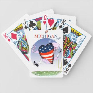 Baralho Para Pôquer fernandes tony altos e orgulhosos de michigan,