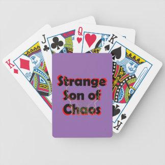 Baralho Para Pôquer Filho estranho do caos