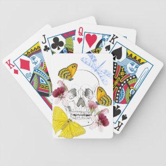 Baralho Para Pôquer Flores de esqueleto