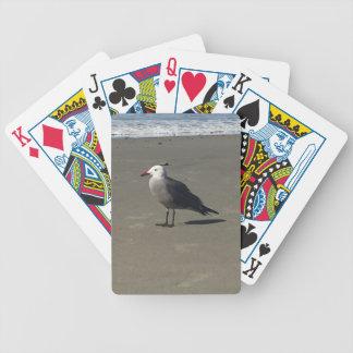 Baralho Para Pôquer Gaivota na praia