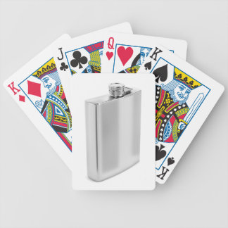 Baralho Para Pôquer Garrafa anca de prata