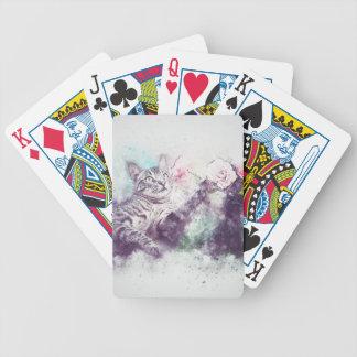 Baralho Para Pôquer gato
