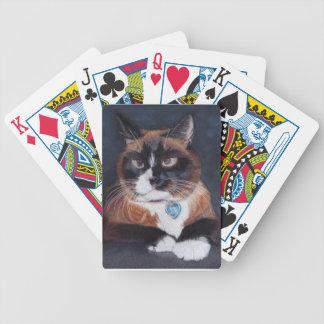Baralho Para Pôquer Gato bonito