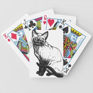 Baralho Para Pôquer Gato Siamese