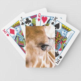 Baralho Para Pôquer Girafa olá!