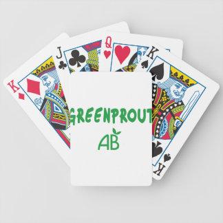 Baralho Para Pôquer Greenprout ecológico