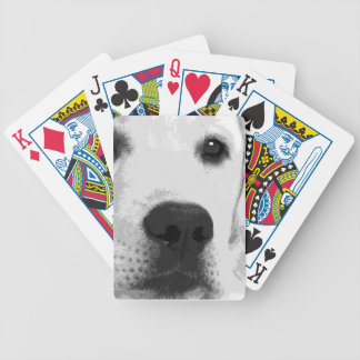Baralho Para Pôquer Labrador retriever preto e branco
