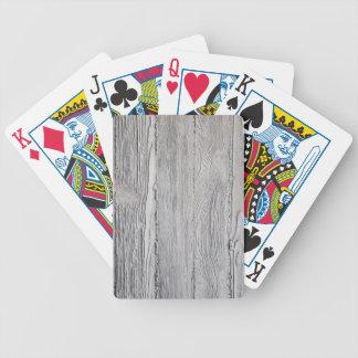 Baralho Para Pôquer Madeira concreta