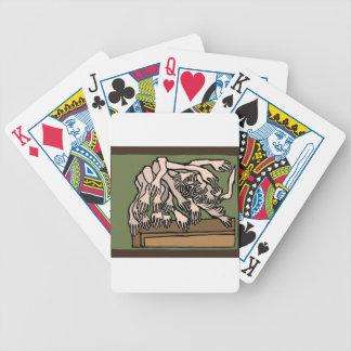 Baralho Para Pôquer Mãos do manequim