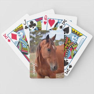 Baralho Para Pôquer Monograma do cavalo