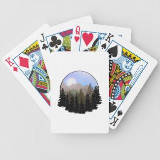 Baralho Para Pôquer O globo da natureza