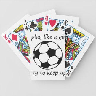 Baralho Para Pôquer o jogo gosta de um girl3