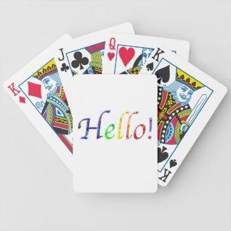 Baralho Para Pôquer olá!!