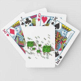 Baralho Para Pôquer porcos britânicos da conversão