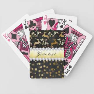 Baralho Para Pôquer Quadro dos diamantes dos confetes dos cervos do