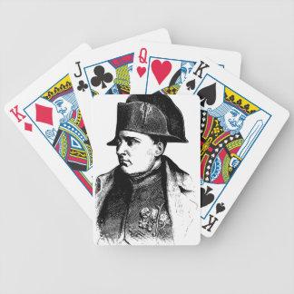 Baralho Para Pôquer Silhueta de Napoleon