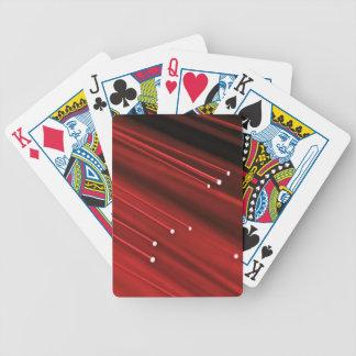Baralho Para Pôquer Sumário da fibra óptica