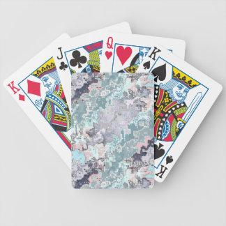 Baralho Para Pôquer Teste padrão abstrato dos Pastels
