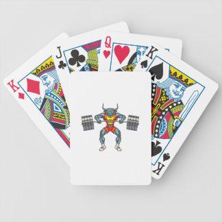 Baralho Para Pôquer touro 3 do levantamento de peso