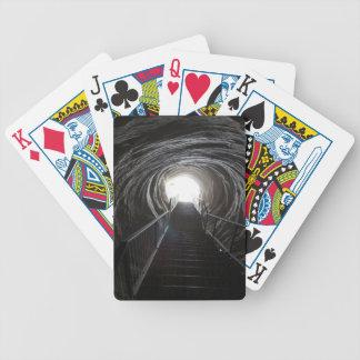 Baralho Para Pôquer Túnel escuro da caverna