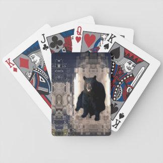 Baralho Para Pôquer Urso 1 - Design do mosaico do cubo de gelo