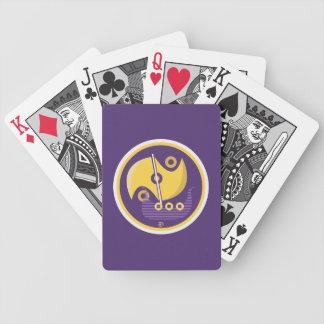 Baralho Para Pôquer Viagem nórdica - cartões de jogo da bicicleta