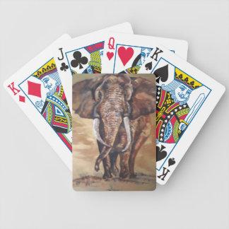 Baralho Para Truco Cartões de jogo da bicicleta do elefante