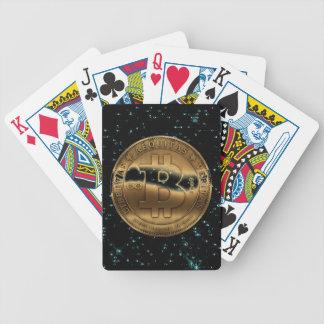Baralho Para Truco Cartões de jogo de Bitcoin