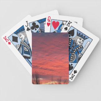 Baralho Para Truco Cartões de jogo do por do sol