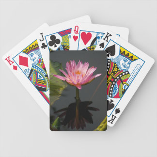 Baralho Para Truco Cartões de jogo roxos de Waterlily Lotus