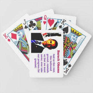 Baralho Para Truco E assim esta visita - Barack Obama