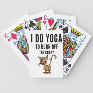 Baralho Para Truco Eu faço a ioga à queimadura do louco