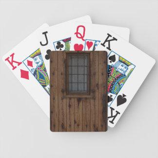 Baralho Para Truco Porta de madeira Knotty velha de Brown