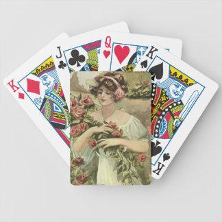 Baralho Para Truco Sun beijou cartões de jogo dos rosas