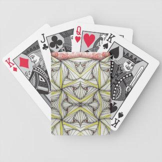 Baralho Para Truco Tessellation original da arte, cartões de jogo da