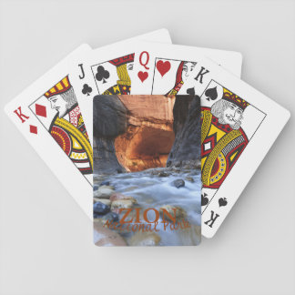 Baralho Parque nacional de Zion, os estreitos, cartões de