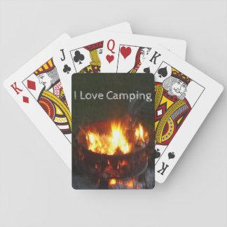 Baralho Plataforma de acampamento de cartões de jogo