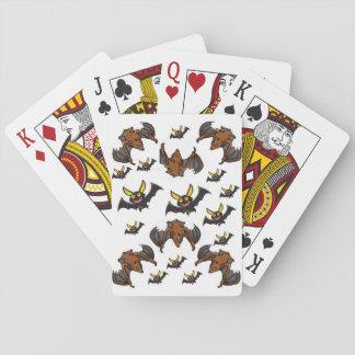 Baralho Plataforma de cartão do jogo do Dia das Bruxas