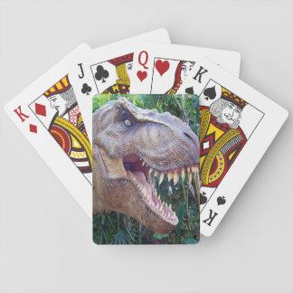 Baralho Plataforma de cartão do jogo do dinossauro