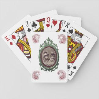 Baralho Plataforma de cartão do jogo do gatinho