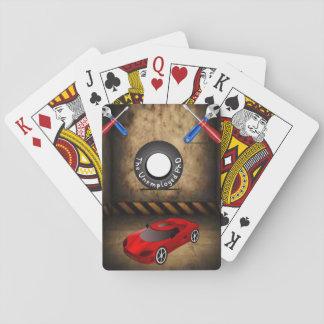 Baralho Plataforma de cartão do jogo do mecânico