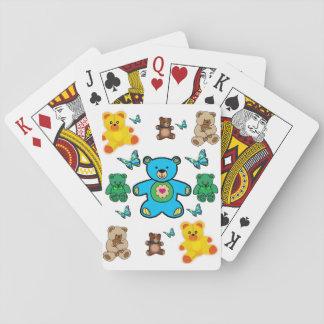 Baralho Plataforma de cartão do jogo do urso
