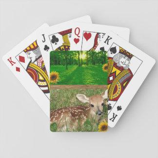 Baralho Plataforma de cartão do jogo dos cervos