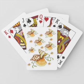 Baralho Plataforma de cartão do jogo dos Seashells