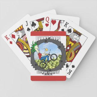 Baralho Plataforma de cartão dos saltos do coelho