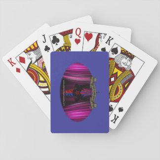 Baralho Plataforma de cartão satânica do jogo da sociedade